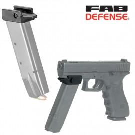 Fixation Picatinny pour chargeur 9 mm