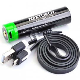 Batterie Rechargeable 18650 USB