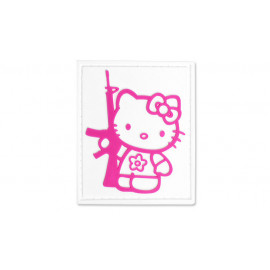 Patch PVC Kitty with gun