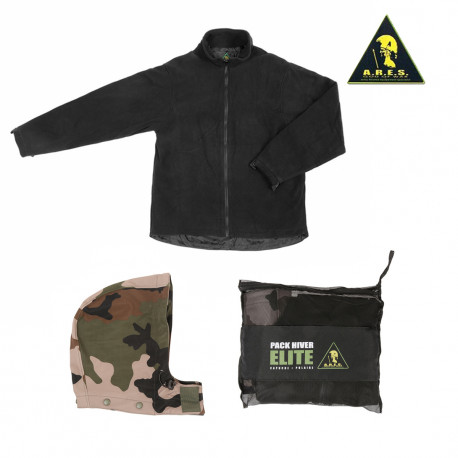 Pack Hiver softshell Elite Cam