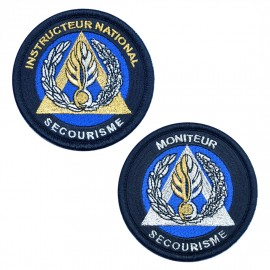 Écusson Secourisme Gendarmerie
