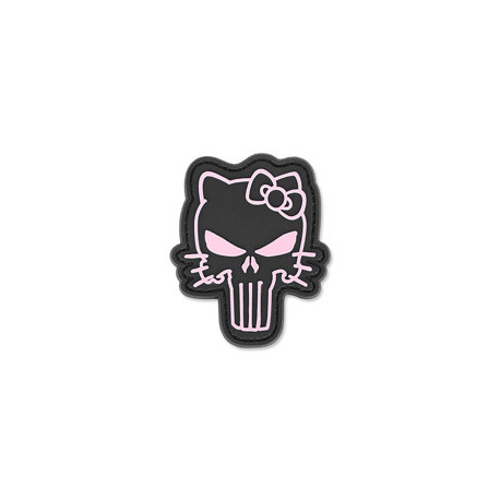 Patch PVC Hello Kitty Punisher