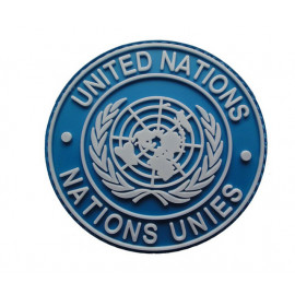 Patch PVC UNITED NATIONS - ONU - NATIONS UNIES