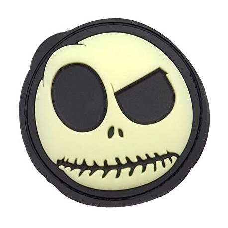 Patch Nightmare Smiley (glow in the Dark)