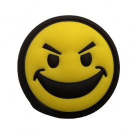 Patch Rond Smile Jaune