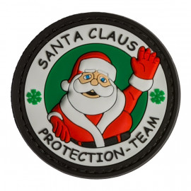 Patch PVC SANTA CLAUS PROTECTION TEAM