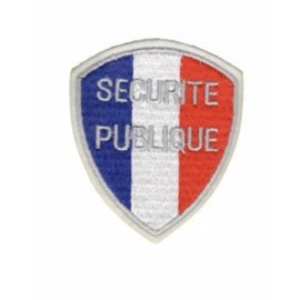 Écusson SECURITE PUBLIQUE