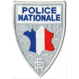 Écusson de Poitrine POLICE NATIONALE (Carte de France)