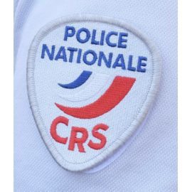 * Écusson Police Nationale CRS