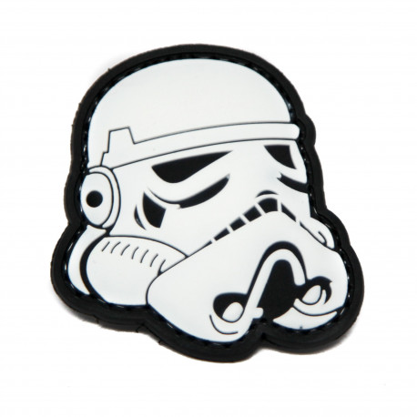 Patch PVC Star Wars Blanc