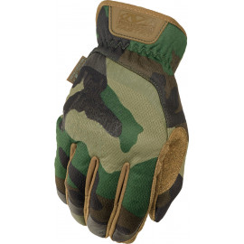 Gants FastFit Tactical Woodland Camo