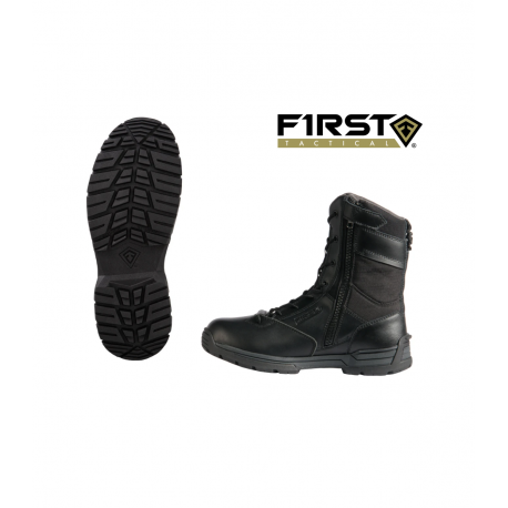 """Bottes First Tactical 8"""" WATERPROOF SIDE ZIP DUTY BOOT"""