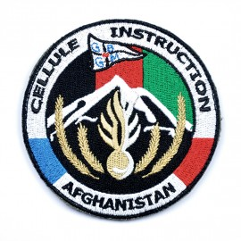 Écusson Cellule Instruction Afghanistan