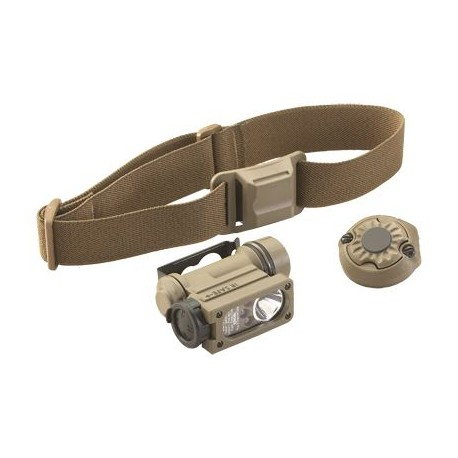 Lampe Sidewinder Compact II Militaire Coyote + accessoires
